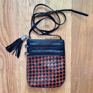 Crossbody purse Made in Italy • Mannelli Florence